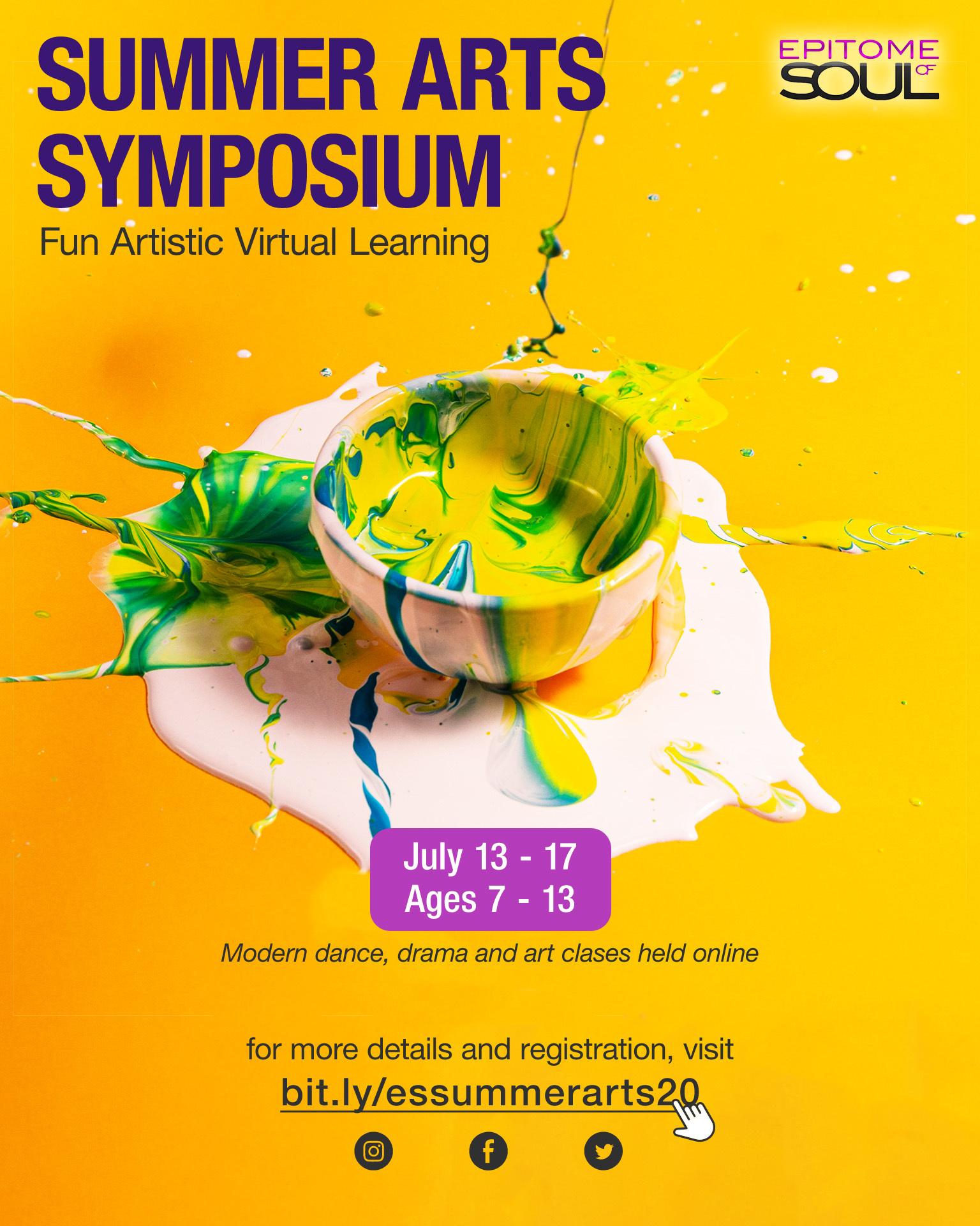 Summer Arts Symposium